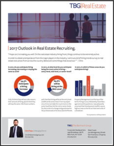 TBG Real Estate Outlook Survey