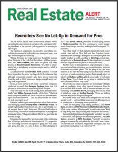 Chris Papa Quoted in Real Estate Alert