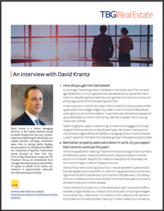Chris Papa Interviews David Krantz on Real Estate Trends