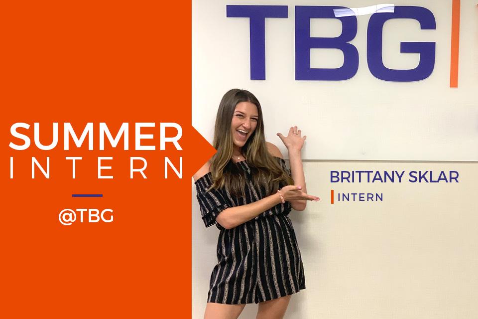 Summer Intern at TBG